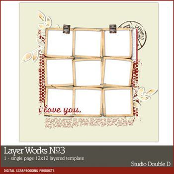Layer Works No. 03 Layered Template