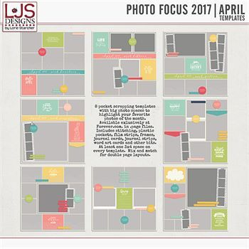 Photo Focus 2017 - April Templates
