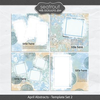 April Abstracts Template Set 2