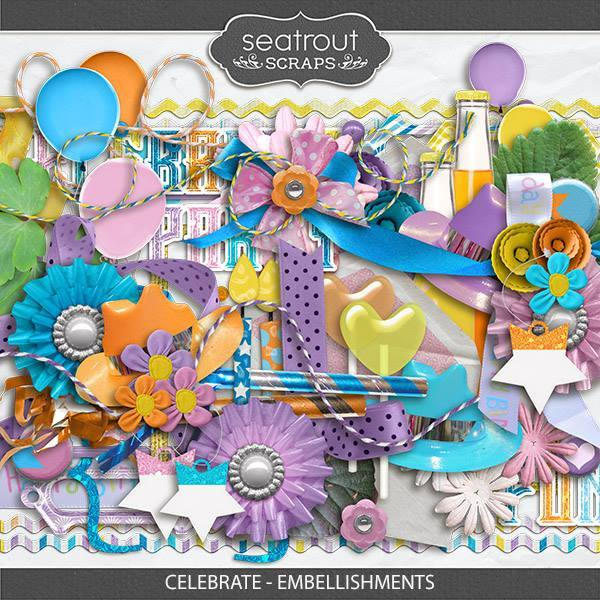 Celebrate - Embellishments