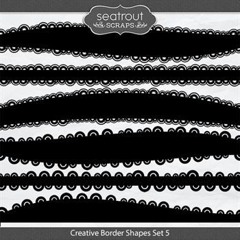 Creative Border Shapes Set 5