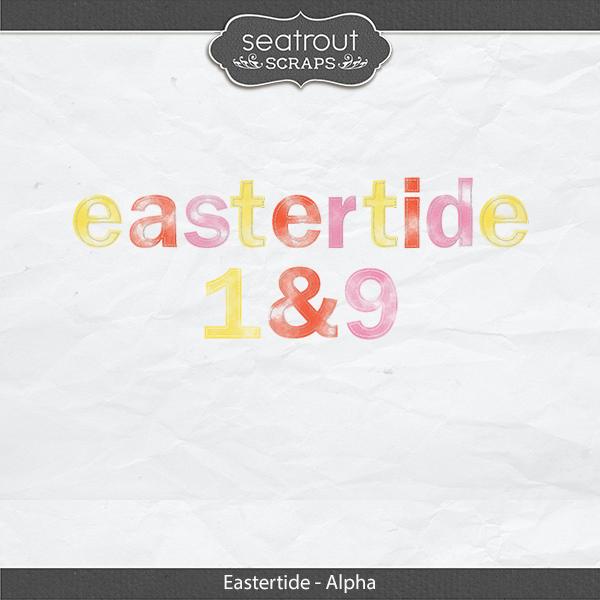 Eastertide - Alpha Digital Art - Digital Scrapbooking Kits