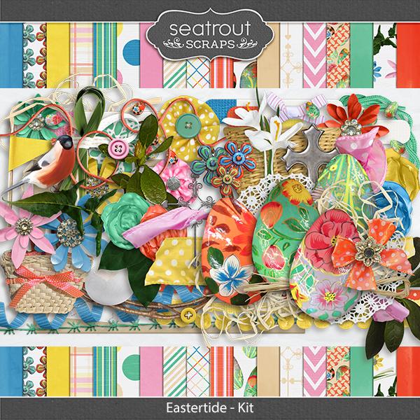 Eastertide - Kit Digital Art - Digital Scrapbooking Kits