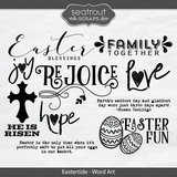 Eastertide - Word Art