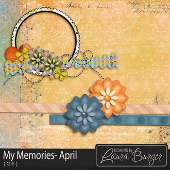 My Memories April - Gift