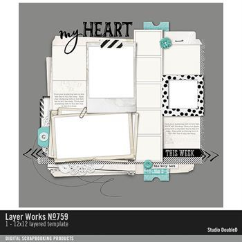 Layer Works No. 759 Layered Template