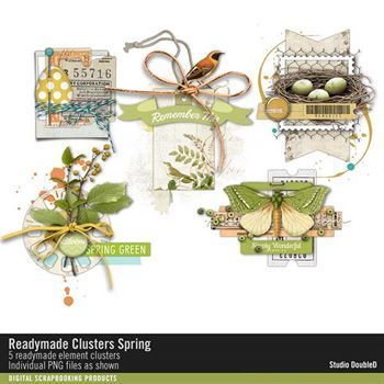 Readymade Clusters Spring