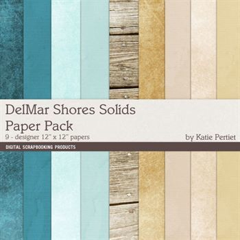 Delmar Shores Solids Paper Pack