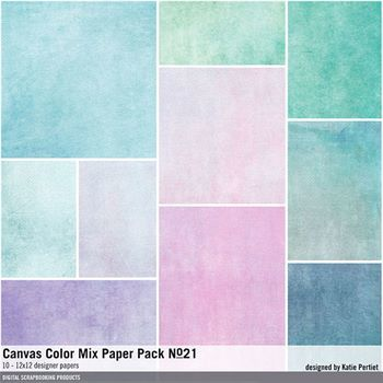 Canvas Color Mix Paper Pack No. 21