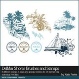Delmar Shores Complete Scrapbooking Collection