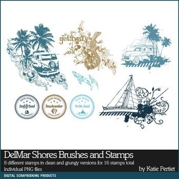 Delmar Shores Brushes And Stamps