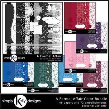 A Formal Affair Color Bundle