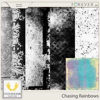 Chasing Rainbows Create Your Own Paper