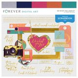 Do What You Love Designer Paper Pack