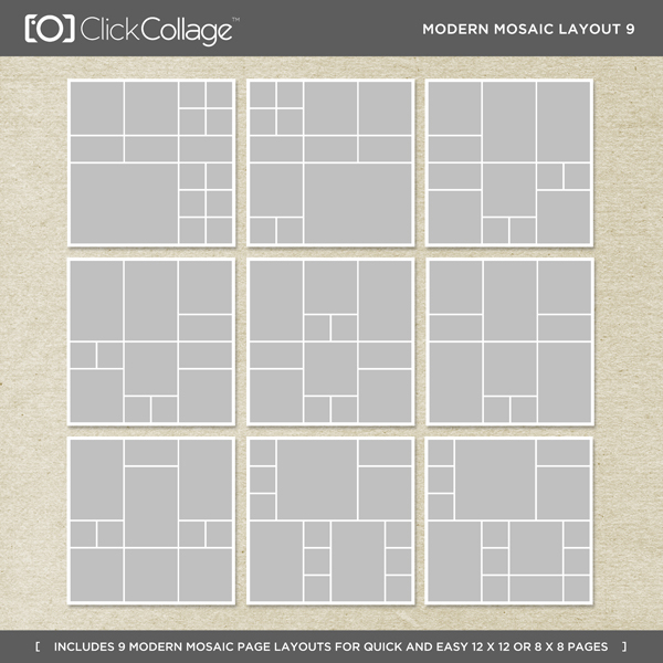 Modern Mosaic Layout 9