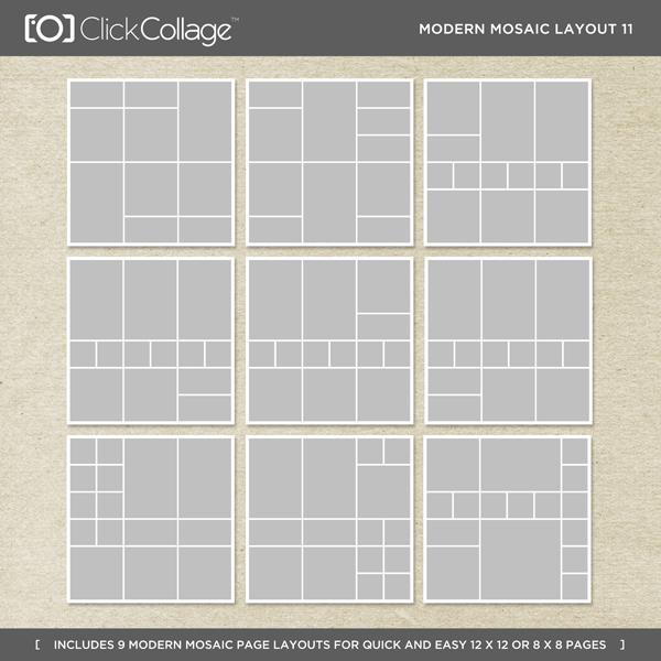 Modern Mosaic Layout 11