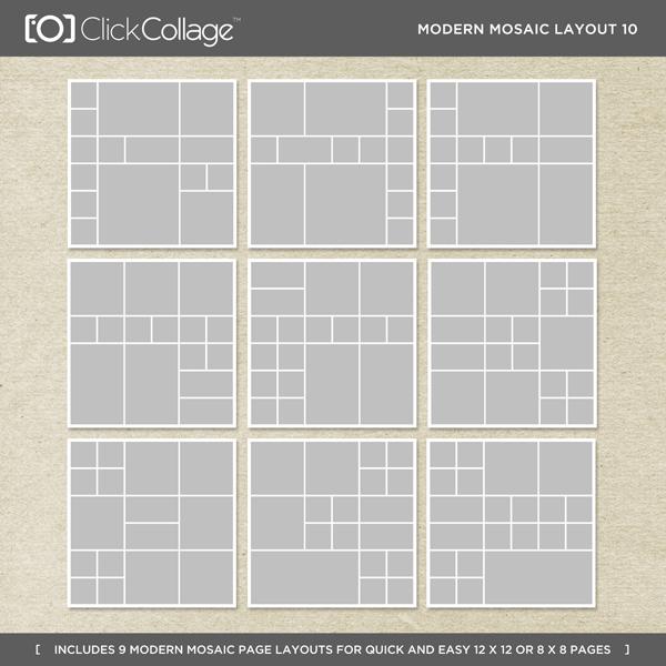 Modern Mosaic Layout 10