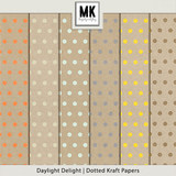 Daylight Delight - Dotted Kraft Papers