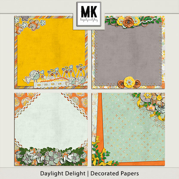 Daylight Delight - Decorated Papers