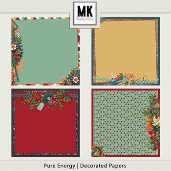 Pure Energy - Decorated Papers