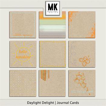 Daylight Delight - Journal Cards