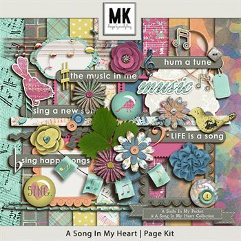 Smile In My Pocket & A Song In My Heart - A Song In My Heart Page Kit