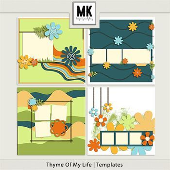 Thyme Of My Life - Templates