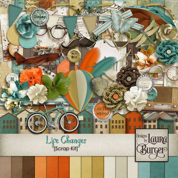Life Changes Scrap Kit