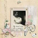I Am My Mothers Daughter Scrap Kit