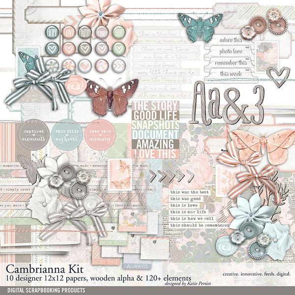 Cambrianna Scrapbook Kit