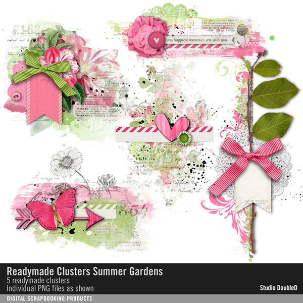 Readymade Clusters Summer Gardens