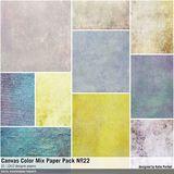 Canvas Color Mix Paper Pack No. 22
