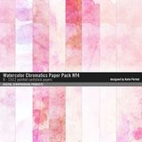 Watercolor Chromatics Paper Pack No. 04
