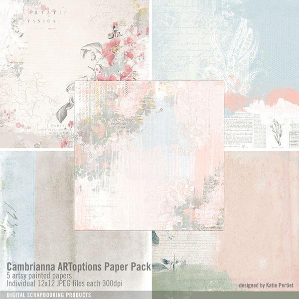 Cambrianna Artoptions Paper Pack