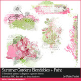 Summer Gardens Scrapbooking Bundle