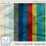 Where I Long To Be - Ocean View Crinkle Solids