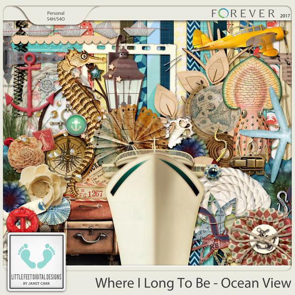 Where I Long To Be - Ocean View Digital Kit
