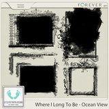 Where I Long To Be - Ocean View Photo Masks