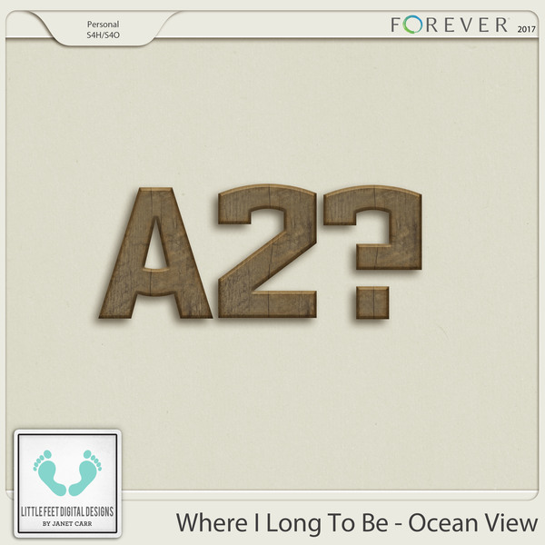 Where I Long To Be - Ocean View Wood Alpha