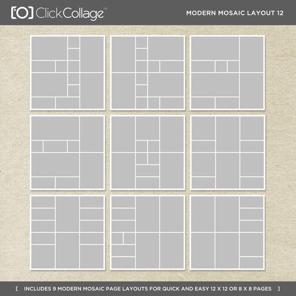 Modern Mosaic Layout 12