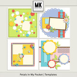 Petals In My Pocket - Templates