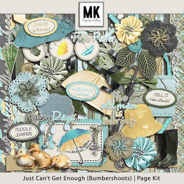 Just Can't Get Enough Bumbershoots - Page Kit