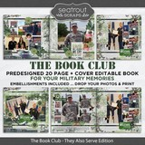 The Book Club - They Also Serve Predesigned Editable Book