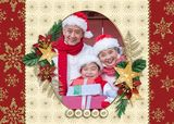 Traditional Christmas Set 2 Predesigned Editable 5x7 Flat Cards