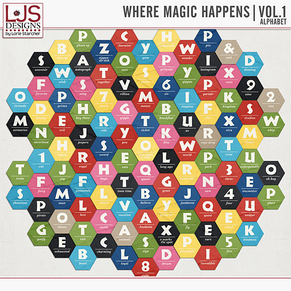 Where Magic Happens Vol 1 - Alpha Digital Art - Digital Scrapbooking Kits