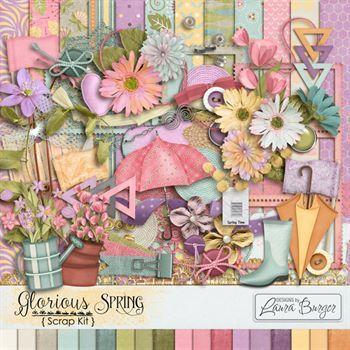 Glorious Spring Scrap Kit
