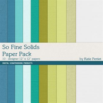 So Fine Solids Paper Pack