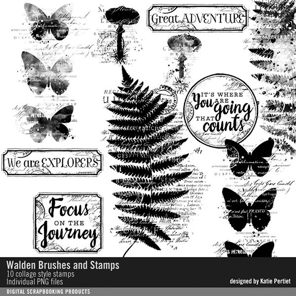 Walden Brushes And Stamps
