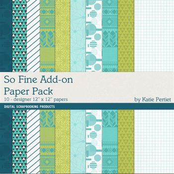 So Fine Add-on Paper Pack