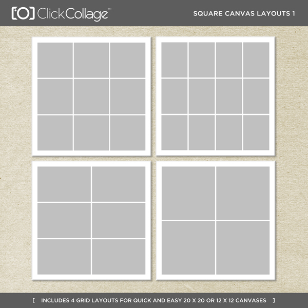 Square Canvas Layouts 1